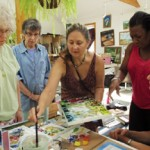 Art and Spirit: Art-Making Workshop<br/>Dragonfly Acres Woodstock NY @ Melissa's Woodstock NY Studio | Hurley | New York | United States