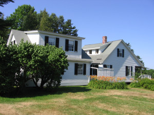 Maine house view