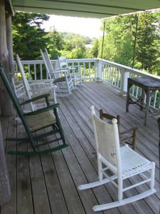 Maine porch
