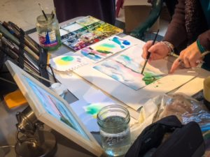 Art & Spirit Watercolor Play Day with Melissa Harris @ circles of wisdom