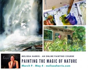 """Painting the Magic of Nature""- scroll all the way down to register @ Online"