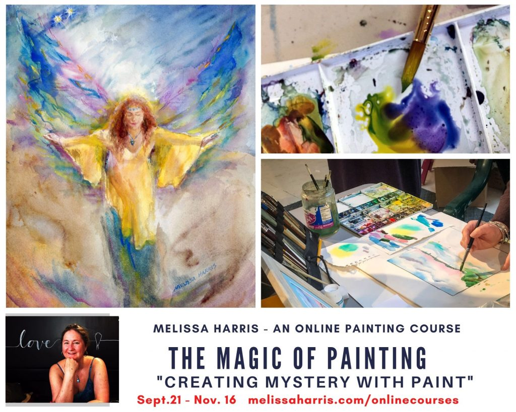 """""""The Magic of Painting"""" with Melissa Harris -Creating Mystery with Paint @ Online"""
