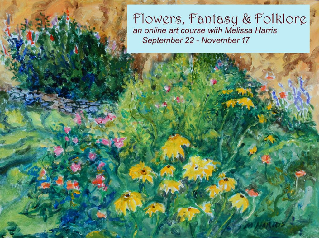 """Flowers, Fantasy and Folklore"" @ Online"